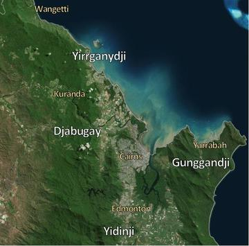 Traditional Owner groups - Cairns Region