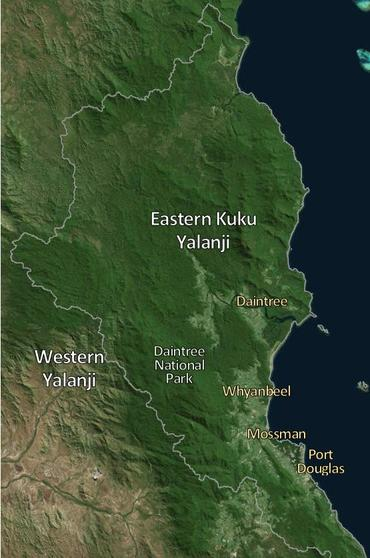 Traditional Owner groups - Daintree
