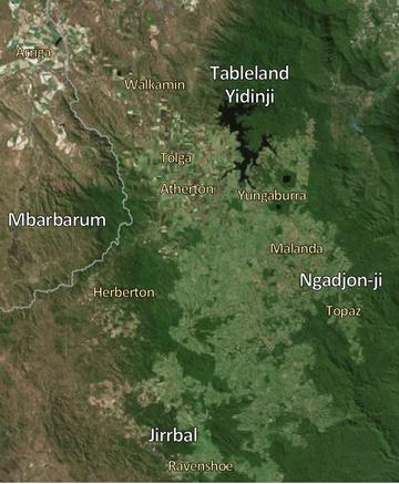 Traditional Owner groups - Southern Tablelands
